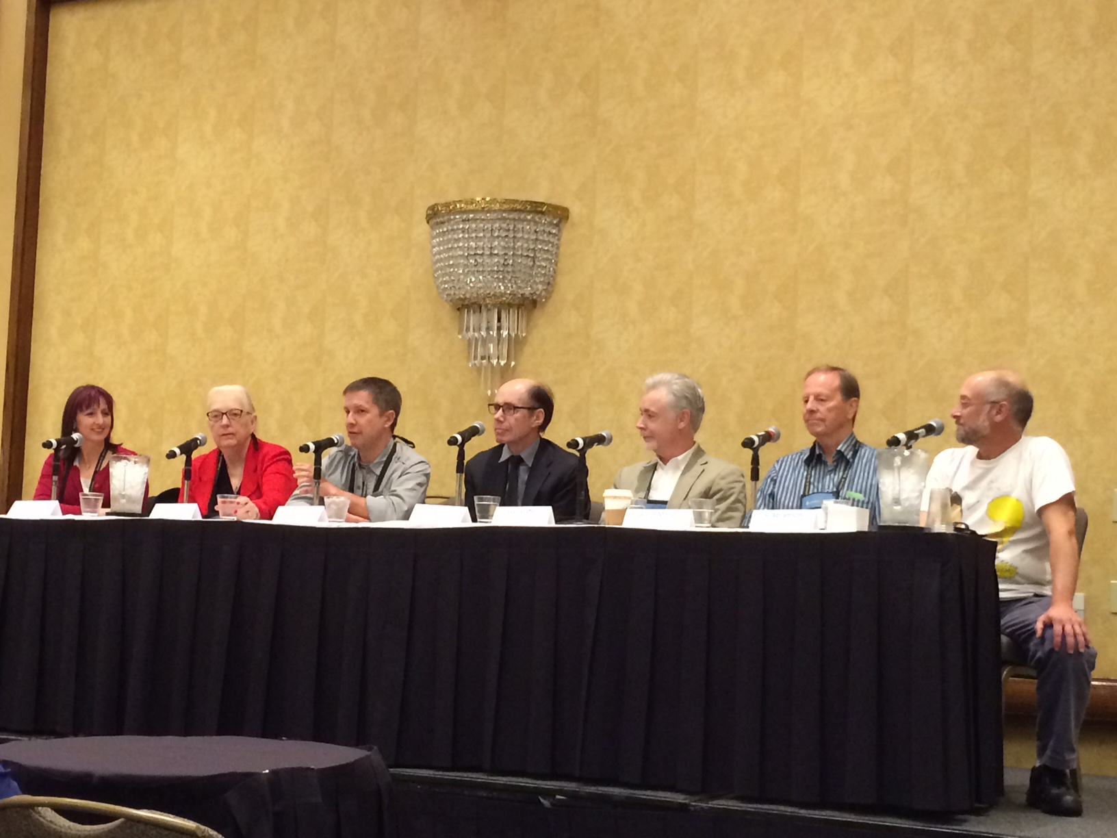 Bouchercon highlights:  J.A. Jance, Jeffrey Deaver and colonoscopies