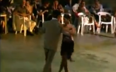 When you hear the pitter patter of little feet it might be a milonga